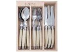 Andre Verdier 18 Piece Debutant Mirror Ivory Cutlery Set