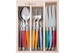 Andre Verdier 18 Piece Assorted Debutant Mirror Cutlery Set