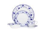 Noritake Rhapsody Blue Dinner Set 20 Piece