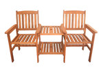 Breeze Outdoor Botany Hardwood Jack & Jill Chair