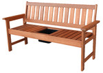 Breeze Outdoor Barossa Drinks Bench with Tray