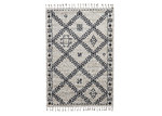 Atlas Flooring Tang Cream & Black Moroccan Rug