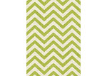 Atlas Flooring Lime Elle Chevron Rug