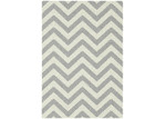 Atlas Flooring Grey Elle Chevron Rug