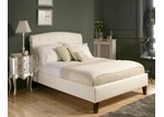 Rawson & Co Italian Design Mono Lisa II PU Leather Wooden Bed Frame