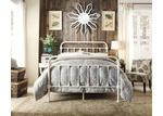 Rawson & Co Ivory White Carter Metal Bed Frame