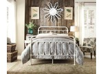 Rawson & Co White Carter Metal Bed Frame