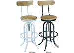 Dodicci Industrial Stool with Back