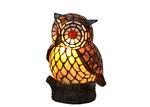 Tiffany Emporium Leadlight Owl Lamp
