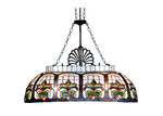 Tiffany Emporium Floral Billiards Lamp