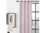 Home Living Pink Albany Single Panel Eyelet Blockout Curtain