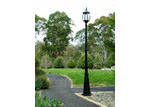 Lexington Home Victorian Garden Lamp Post