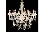 Lexington Home Cassie French Provincial 12 Arm Acrylic Chandelier