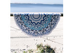 Lexington Home Collection Round Beach Towel - Watercolour