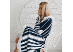Lexington Home Collection Round Beach Towel - Oceans