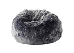 Lexington Home Charcoal Cloud Faux Fur Beanbag Cover