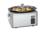 Cuisinart Cuisinart Programmable 6.5L Stainless Steel Slow Cooker