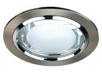 Oriel Lighting EOS Litek 140 Side Entry Downlight in Brushed Chrome