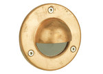 Oriel Lighting Rocco Hooded LV Exterior Recessed Light in Copper