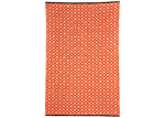Home & Lifestyle Kimberley Orange Geometric Rug