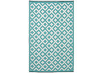 Home & Lifestyle Marina Sea Green Plastic Rug