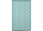 Home & Lifestyle Marina Sea Green Plastic Rug
