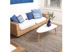 Home & Lifestyle Royal Blue Woven Iris Jute Rug