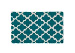 Home & Lifestyle Blue & White Girih Tile Doormat