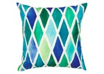 Home & Lifestyle Blue Diamond Outdoor Cushion