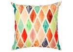 Home & Lifestyle Yellow Diamond Outdoor Cushion