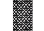 Home & Lifestyle Black & White Tangier Trellis Outdoor Rug