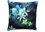 Glamour Paradise Blue Lagoon Navy Posey Outdoor Cushion