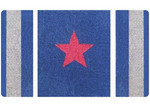 Doormat Designs Red Star Doormat
