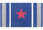 Doormat Designs Red Star Doormat
