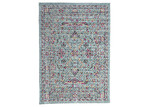 Dotts Rugs Blue & Pink IV Eastern Way Vintage-Style Rug