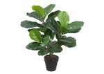 Global Gatherings Potted Faux Fiddle-Leaf Fig Plant