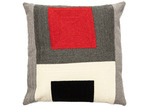 Linea Furniture Geometric Rashi Cotton-Blend Cushion