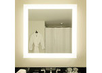 Thermogroup S Range Square Backlit Mirror without Border