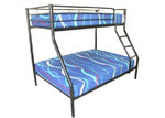 By Designs Duo Double Metal Bunk Bed