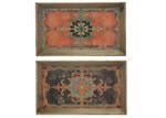 Elegant Designs Venetian Trays (Set of 2)