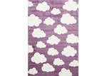 Lifestyle Floors Purple Piccolo Clouded Rug