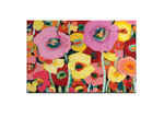 Our Artists' Collection Pair Poppy 2 by Anna Blatman Art Print on Canvas