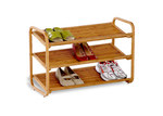 Honey Can Do 3 Tier Deluxe Bamboo Shoe Shelf