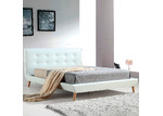 Essential Home Supply Ramone Faux Leather Queen Bed Frame
