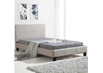 Essential Home Supply Barocca Upholstered King Single Bed Frame