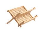 Sherwood Housewares Sherwood Folding Bamboo Dish Rack