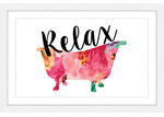 Marmont HIll Relax Tub Wall Art