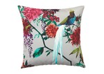 Luxotic Ivory Chintz Velvet Cushion
