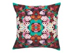 Luxotic Teal Giselle Velvet Cushion