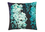 Luxotic Teal Wisteria Velvet Cushion